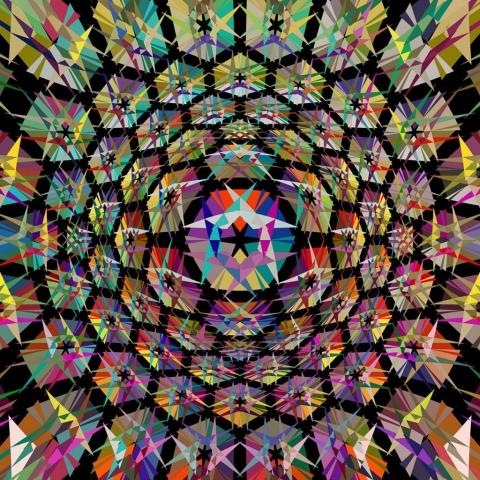 Patchwork Mandala